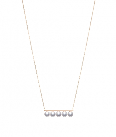 TASAKI balance signature 珍珠櫻花金項鍊_NT$133,000