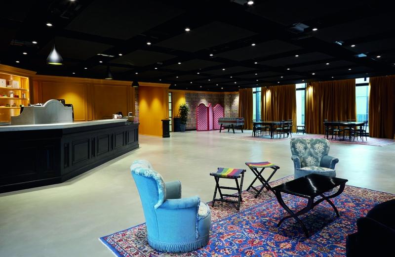 Gucci ArtLab 藝術實驗室 休憩區