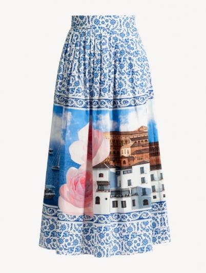 WEEKEND Max Mara_愛琴海陽光系列AEGEAN SUN_CLEOFE圓裙 NT21,400元