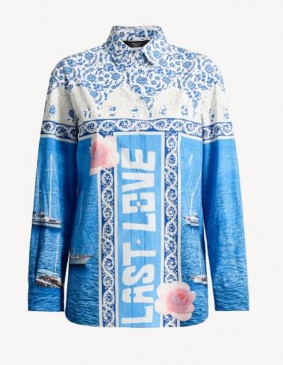 WEEKEND Max Mara_愛琴海陽光系列AEGEAN SUN_ESEDRA襯衫 NT17,800元