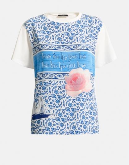 WEEKEND Max Mara_愛琴海陽光系列AEGEAN SUN_BAROCCO棉質上衣 NT8,400元