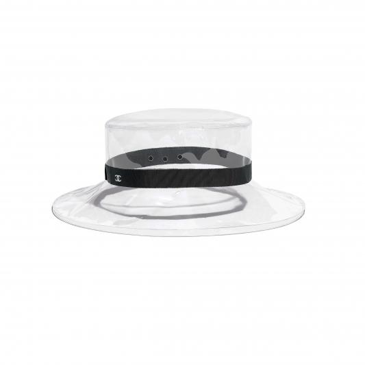 透明塑料仕女帽,Chanel