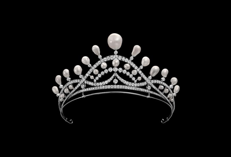 巴洛克珍珠冠冕 1920年