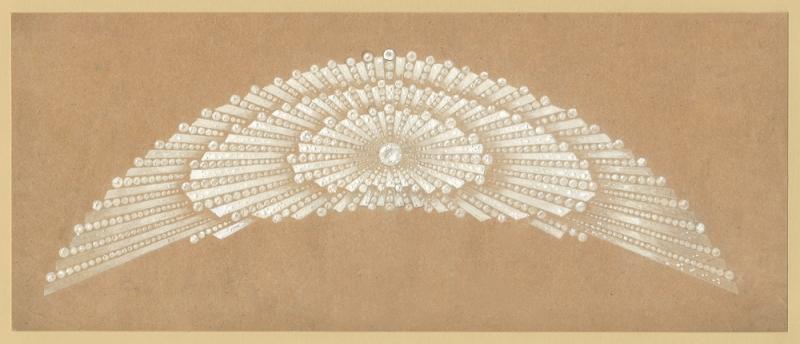 太陽冠冕, 1914年創作, 現為Chaumet 巴黎珍藏