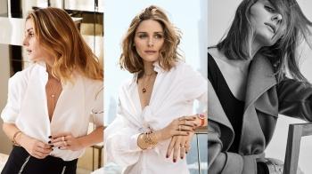 美國第一時尚名媛Olivia Palermo:我最喜歡層疊混搭手環,一戴上既有氣勢又時髦!