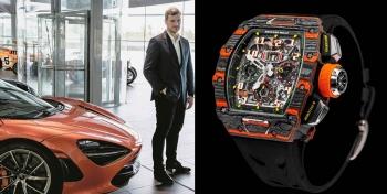頂級機械錶RICHARD MILLE與英倫超跑McLaren攜手發佈超夢幻聯名錶款,潮到連女生都尖叫!