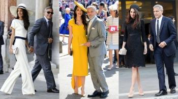 是什麼魅力讓他們一出場就成為場上焦點?盤點克隆尼夫妻檔的時髦優雅穿搭