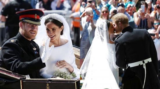 超浪漫皇室世紀大婚!哈利王子與梅根的夢幻婚紗行頭揭密