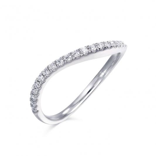 點睛品 Fingers Play18K白金鑽石戒指建議售價NT$ 16200