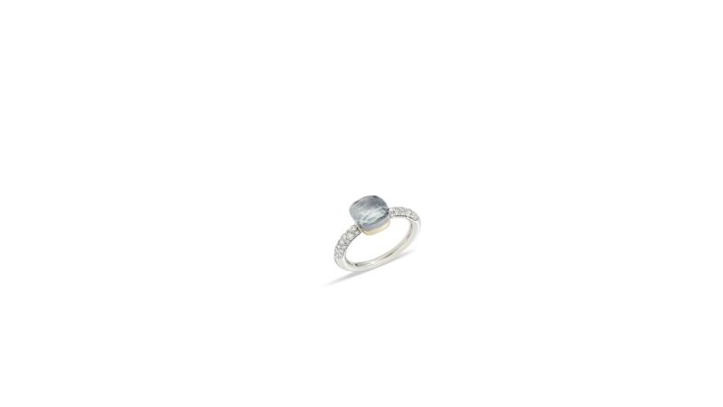 NUDO COLOR STORM全球限量戒指系列_海水藍寶鑽石戒指_新台幣256,800元整。