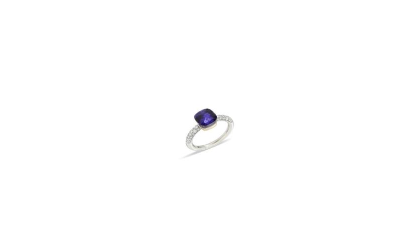 NUDO COLOR STORM全球限量戒指系列_堇青石鑽石戒指_台幣347,400元整。