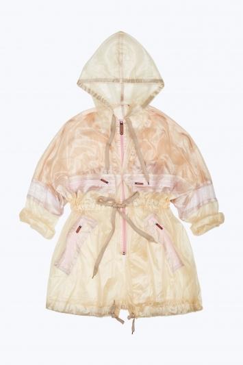 烏干紗透膚外套上衣,Marc Jacobs。
