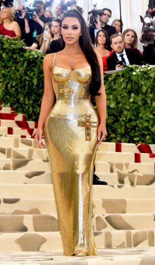 Kim Kardashian In Versace