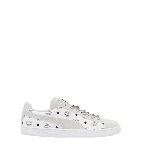PUMA X MCM Suede 聯名鞋款 (白色) NTD11,980