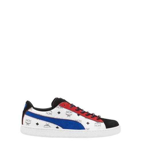 PUMA X MCM Suede 聯名鞋款 (紅藍色) NTD11,980
