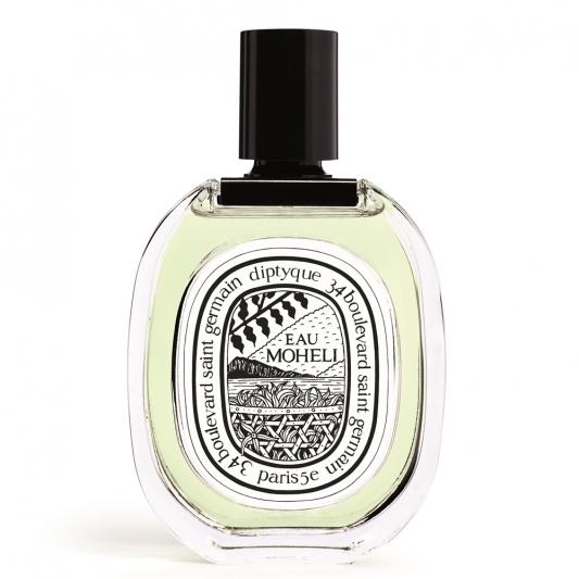 diptyque經典淡香水-依蘭之水100ml,NT3,950 香調:馬達加斯加粉紅胡椒、莫赫利依蘭依蘭、海地岩蘭草
