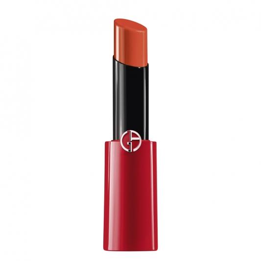 Giorgio Armani粉漾光訂製彩妝奢華訂製緞光水唇膏(#302橘粉珊瑚)3g,NT1,200(台灣6/1上市)