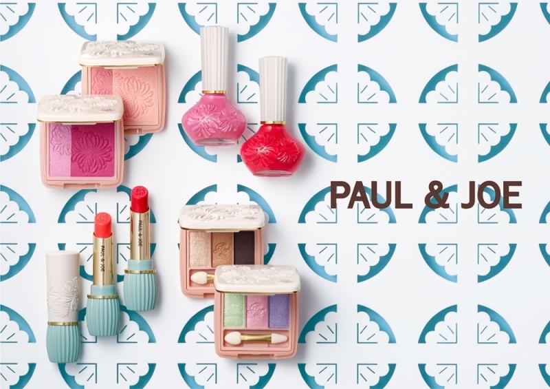 PAUL & JOE 2018法式美妝主視覺