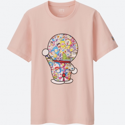 Doraemon 印花T恤(短袖) NTD590