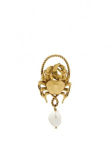 巨蟹座:白色,不規則白珍珠