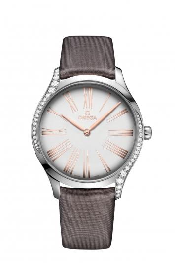 碟飛系列TRÉSOR腕錶39毫米18K Sedna™金時針鑲鑽錶款 建議售價NTD183,700