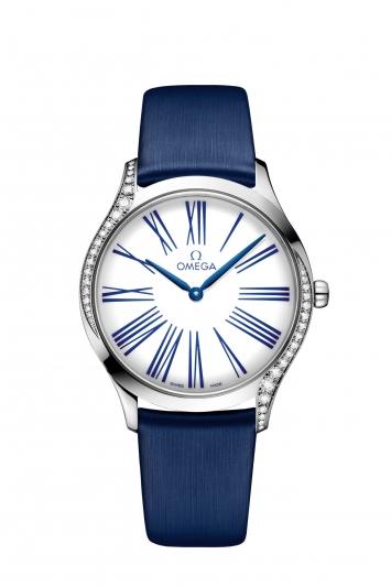 碟飛系列TRÉSOR腕錶36毫米 不鏽鋼鑲鑽錶款 建議售價NTD144,900