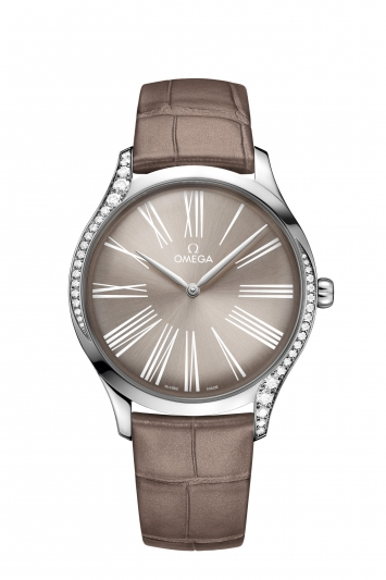 碟飛系列TRÉSOR腕錶39毫米 不鏽鋼鑲鑽錶款 建議售價NTD166,100