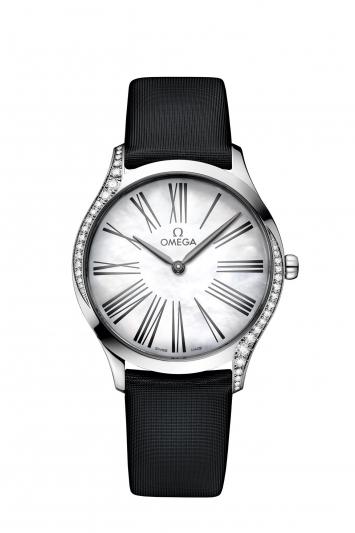 碟飛系列TRÉSOR腕錶36毫米 不鏽鋼鑲鑽錶款 建議售價NTD162,500