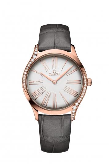 碟飛系列TRÉSOR腕錶36毫米 18K Sedna™金鑲鑽錶款 建議售價NTD282,700