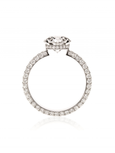 海瑞溫斯頓Attraction鑽石戒指