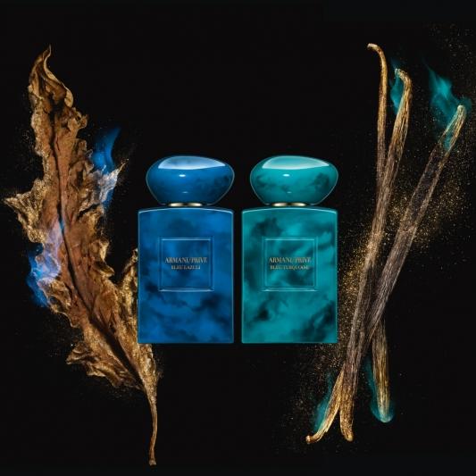 Giorgio Armani高級訂製香水寰遊系列(藍珀青金石、烏香綠松石)
