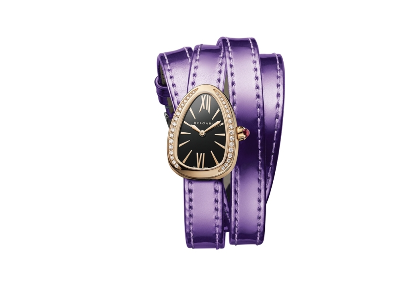 Serpenti Twist 系列腕錶,Bulgari。