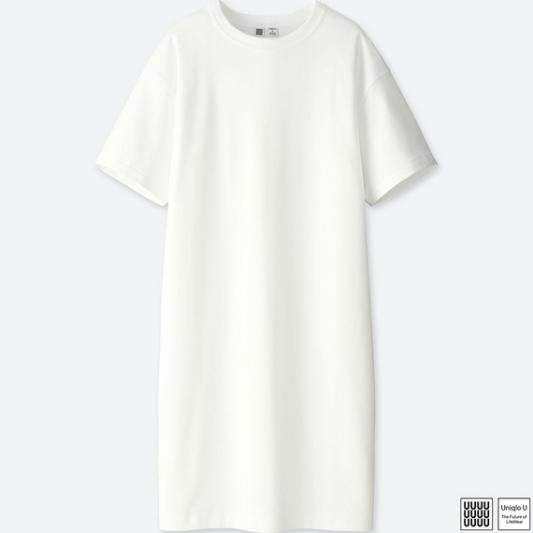 T恤式洋裝,Uniqlo,NT590。