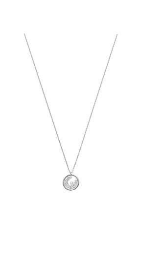 MIKIMOTO Lucky Motif Collection-Horseshoe日本Akoya珍珠18K白金墜鍊 建議售價:NT$49,000
