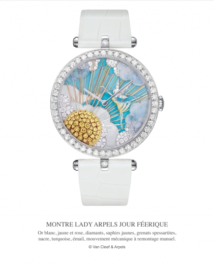 Van Cleef & Arpels 的 Lady Arpels Jour Féerique 腕錶
