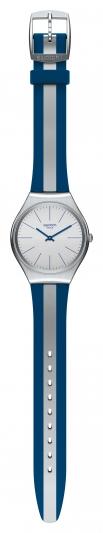 Swatch SKIN Irony 超薄金屬錶_酷玩藍SKINSPRING,NT4,750。
