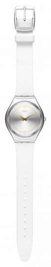 Swatch SKIN Irony 超薄金屬錶_風尚白SKINDOREE,NT4,900。
