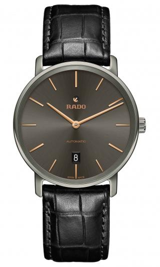 Rado DiaMaster 鑽霸系列碳化鈦金屬自動腕錶_R14067156_建議售價NTD 74,300