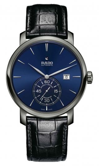 Rado DiaMaster 鑽霸系列小秒針自動機械天文台腕錶_型號R14053206_建議售價NTD84,500
