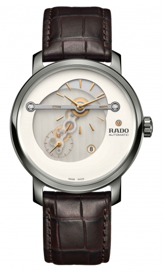Rado DiaMaster 鑽霸系列偏心顯示腕錶_R14061706_建議售價NTD 103,100