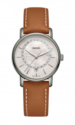 Rado DiaMaster 鑽霸系列電漿高科技陶瓷女仕腕錶_型號R14064945_建議售價NTD 65,900