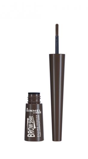 RIMMEL倫敦芮魅就是有型自然眉粉棒(#003 Dark Brown咖啡棕)7ml,NT350。
