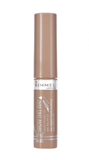 RIMMEL倫敦芮魅就是有型持久染眉膏(#001 Blonde淺金棕)5ml,NT240。