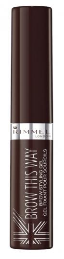 RIMMEL倫敦芮魅就是有型持久染眉膏(#003 Dark Brown咖啡棕)5ml,NT240。
