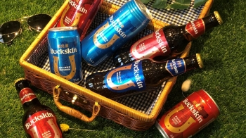 適合女孩喝的夏日清爽啤酒再一發!全新Buckskin柏克金啤酒除了包裝超亮眼外,口感更是不得了♥