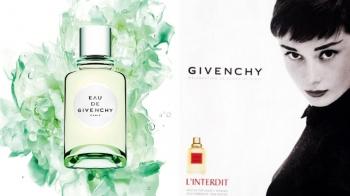 創新詮釋奧黛麗赫本經典香氛,紀梵希香水EAU DE GIVENCHY化為清新綠色柑橘香