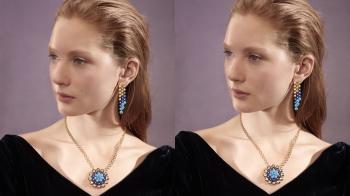 一條項鍊由千枚構件組成、手工雕琢的珠寶結構、凹凸亮片的繁複拋光…Van Cleef & Arpels梵克雅寶Bouton d'or系列的的細節之美