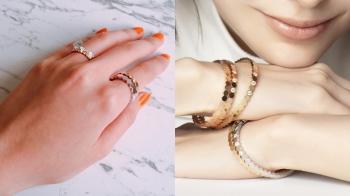 【試戴報告】六邊形蜂巢設計概念、多種材質與尺寸…可愛又細膩的時髦系珠寶Chaumet「Bee My Love」的細節公開