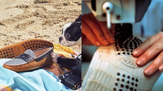 豆豆鞋的一顆顆橡膠粒原來是這樣縫的!TOD'S經典GOMMINO豆豆鞋工坊技術大公開