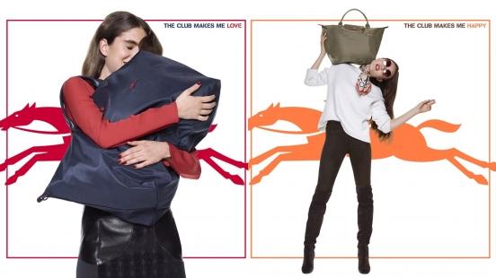 多了刺繡標誌更添俏皮學院風!Longchamp全新推出的Le Pliage Club系列包款
